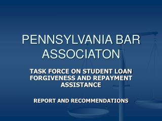 PENNSYLVANIA BAR ASSOCIATON