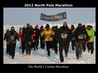 2012 North Pole Marathon