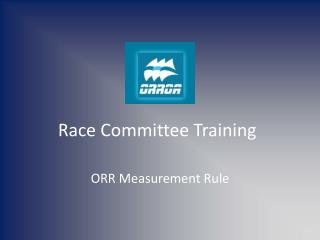 Race Committee Training