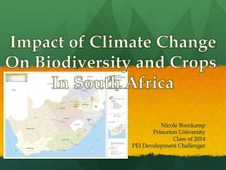 impact of climate change on biodiversity