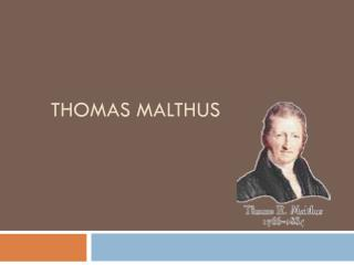 overview of the malthus ricardo debate Malthus, marx and the globalization debate does malthus or marx have the best solution for global population growth by george magnus,  malthus, after all, was .