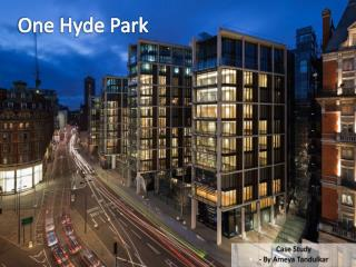 One Hyde Park