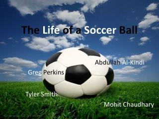 The  Life  of a  Soccer  Ball