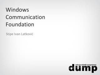 Windows Communication Foundation