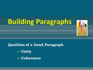 Building Paragraphs