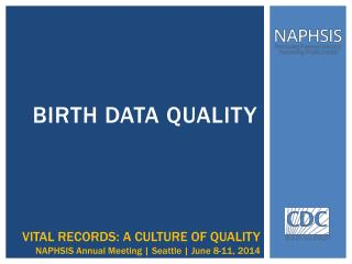 Birth data quality