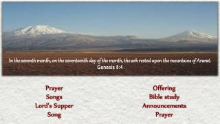 Prayer Songs Lord's Supper Song