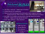 Los Caballeros - Phase 1 Newhope Tri-Level DUPLEX  Presented by LOS CABALLEROS  REAL ESTATE