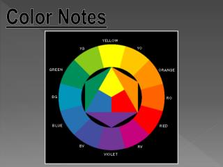 Color Notes