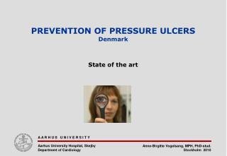 Prevention of pressure ulcers Denmark