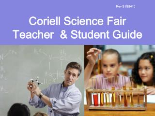 Coriell Science Fair Teacher  & Student Guide