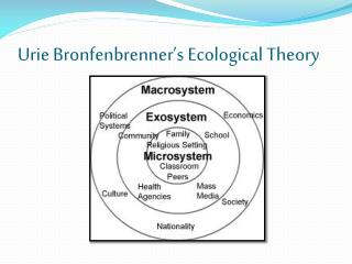 Urie  Bronfenbrenner's  Ecological Theory
