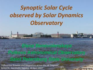 Synoptic  Solar  C ycle   observed by Solar Dynamics Observatory