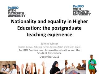 Nationality and equality in Higher Education: the postgraduate teaching experience