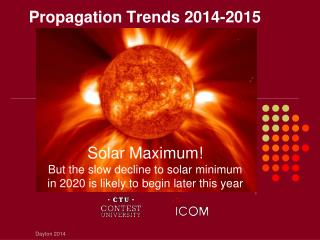 Propagation Trends 2014-2015