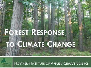 Northern Institute of Applied Climate Science