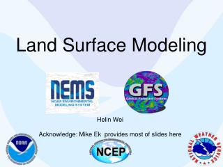 Land Surface Modeling
