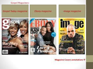 Gospel Magazines: