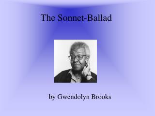 The Sonnet-Ballad