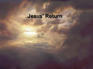 Jesus' Return