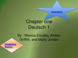 Chapter one Deutsch 1