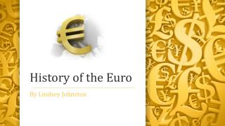 History of the Euro