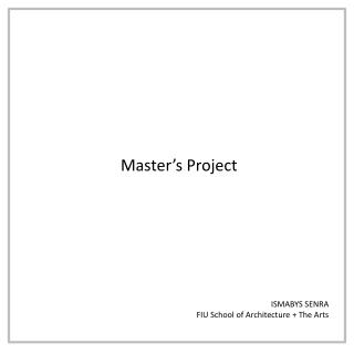 Master's Project