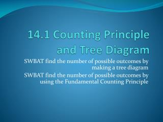 Ppt 141 counting principle and tree diagram powerpoint download section ccuart Gallery