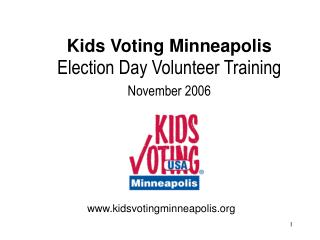 Kids Voting Minneapolis