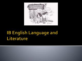 IB English Language and Literature