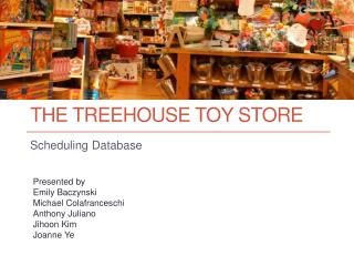 The  treehouse  toy store