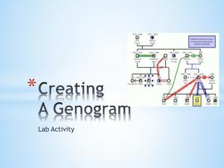 Creating  A Genogram