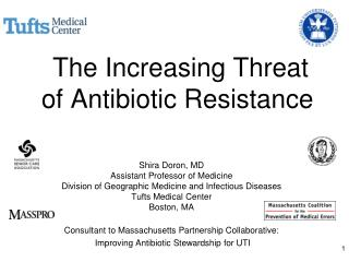 The Increasing Threat of Antibiotic Resistance