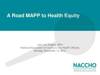 A Road MAPP to Health Equity