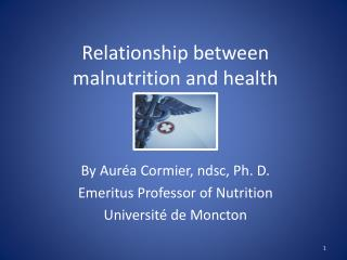 Relationship between malnutrition and health
