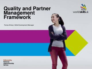 Quality and Partner Management Framework