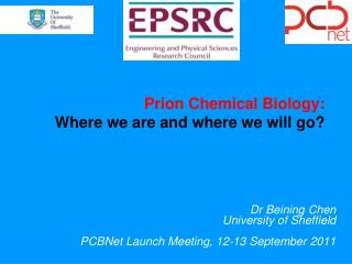 Prion Chemical Biology:  Where  we are and  where we will go?