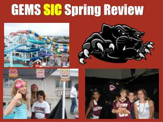 GEMS  SIC  Spring Review