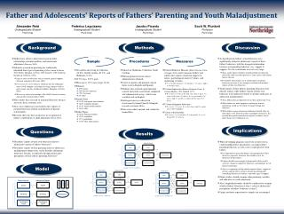 Father and Adolescents' Reports of  Fathers'  Parenting and Youth Maladjustment