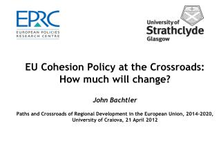 Context for Cohesion policy reform Cohesion policy reform proposals Key issues in he debate