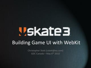 Building Game UI with WebKit