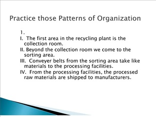Practice those Patterns of Organization