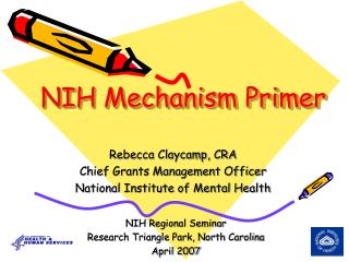 NIH Mechanism Primer