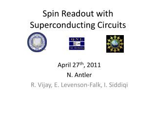 Spin Readout with Superconducting Circuits