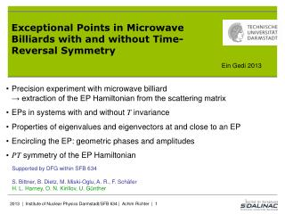 Exceptional  Points in  Microwave Billiards with and without  Time- Reversal Symmetry