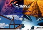 CRESCO PROJECT FINANCE  Company profile