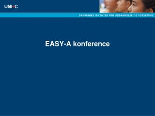 EASY-A konference