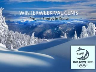 WINTERWEEK VAL CENIS