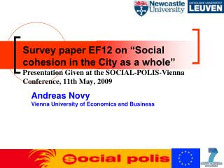 Andreas Novy Vienna University of Economics and Business
