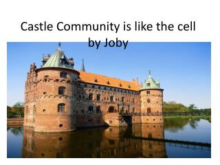 Castle Community is like the  cell b y  Joby